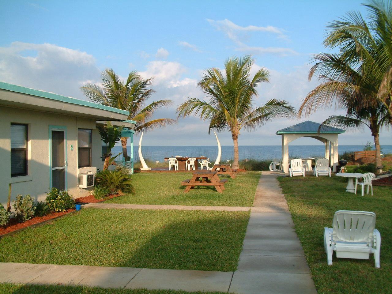 Gulf Sands Beach Motel On the beach beach front Florida